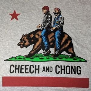 Other - NEW! T SHIRT CHEECH & CHONG MEN'S SIZE 2XL TALL